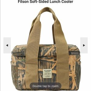 Filson soft sided lunch cooler NWT